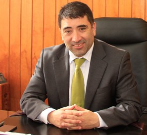 VICEPRESIDENTE Cristian Peña Morales, Alcalde de Lebú