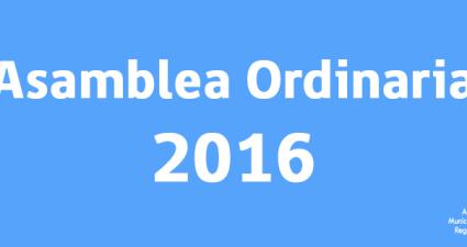 asamblea ordinaria 2016