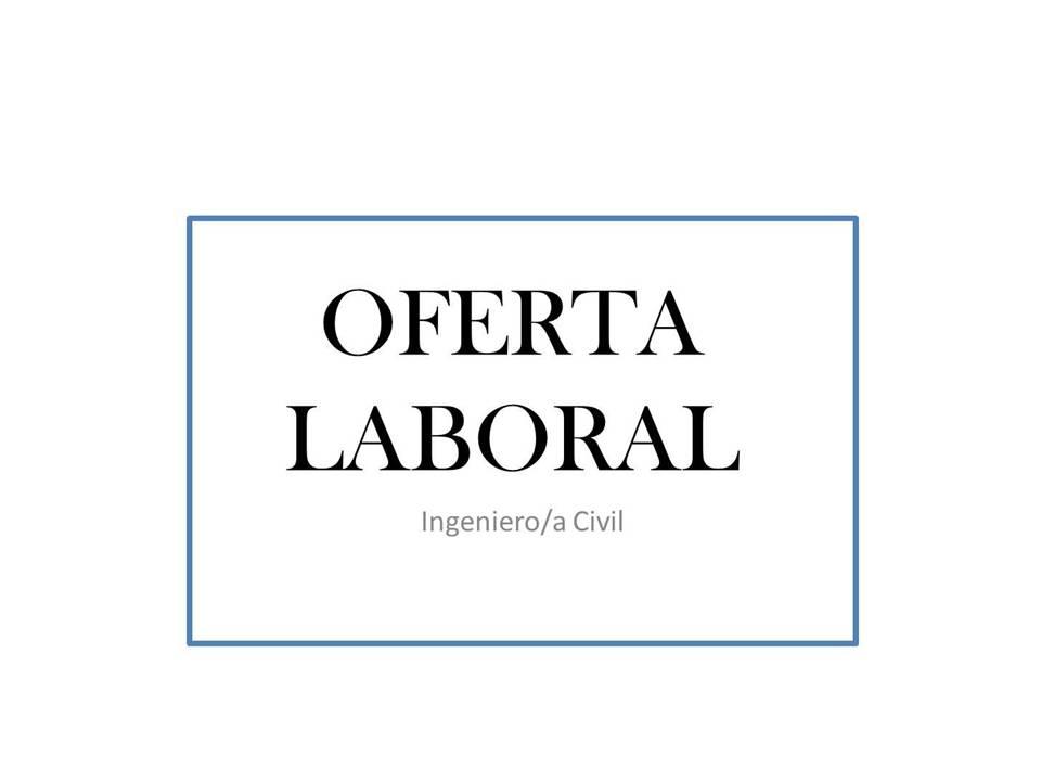 CONCURSO LABORAL ING 2018