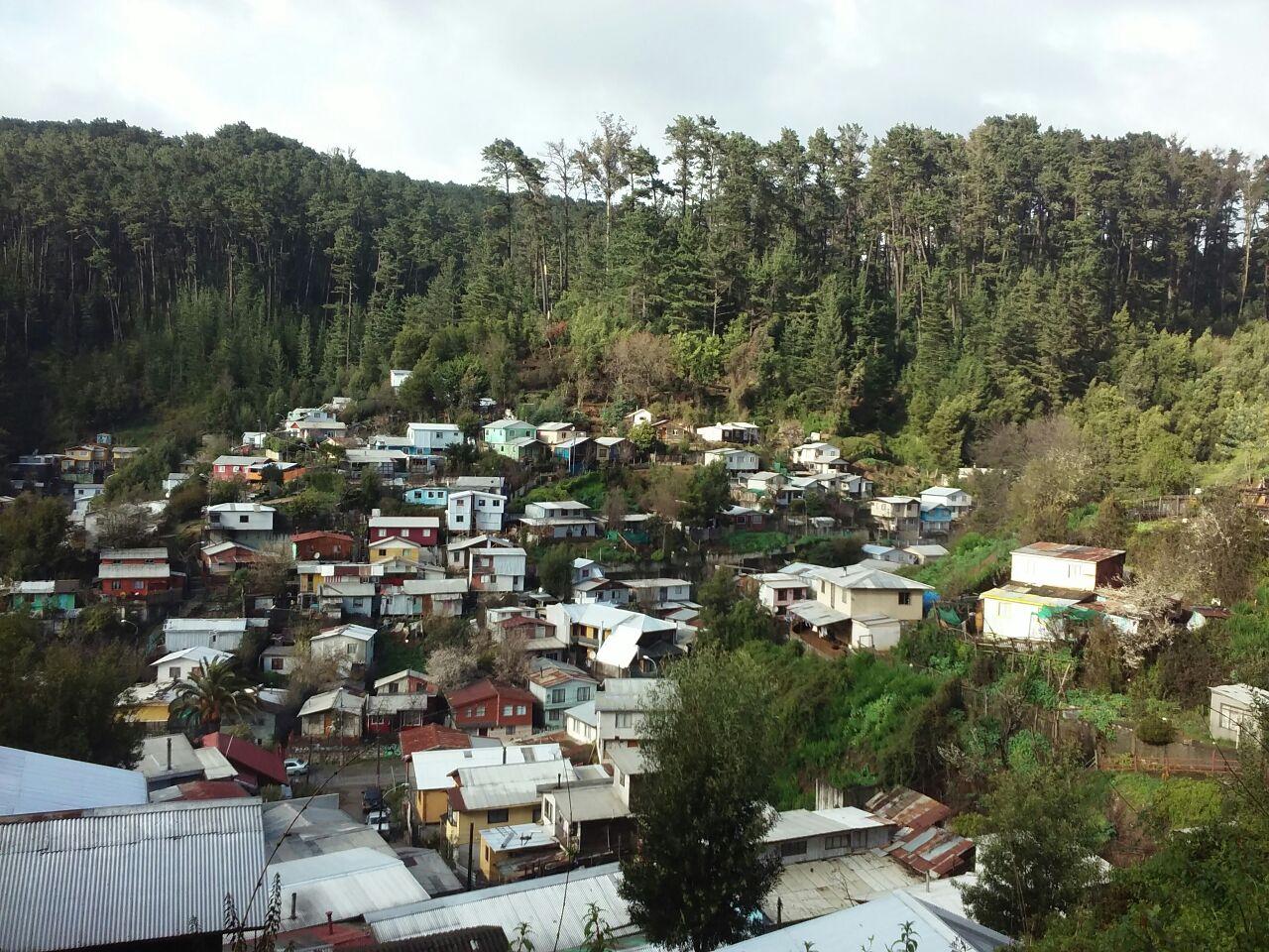 Visita en Terreno Agüita de la Perdiz, Concepción.